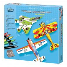 Maquettes déco avions Multicolore