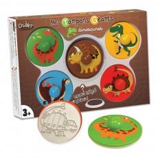 Mes tampons géants les dinosaures Multicolore