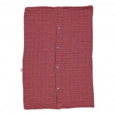 Taie d'oreiller 40x60 cm Rouge brique