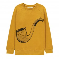 Sweat Pipe Ilas Jaune moutarde