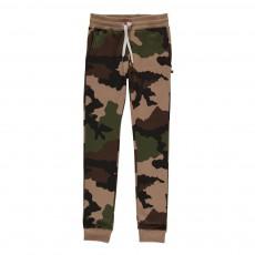 Jogger Slim Camouflage Beige