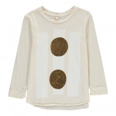 T-Shirt Coton Bio Beams Ecru
