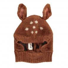 Cagoule Baby Alpaga Bambi Caramel