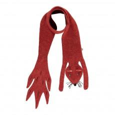 Echarpe Baby Alpaga Ecureuil Rouge brique