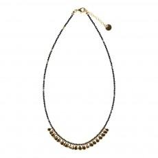 Collier Perles Vera Noir