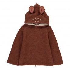 Burnou Baby Alpaga Bambi Caramel