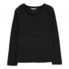 T-Shirt Chiné Peyton Noir