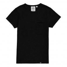 T-Shirt Moucheté Stronger Noir