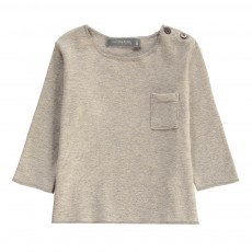 T-Shirt Poche Oriol Gris clair