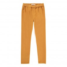 Jegging Velours Jaune moutarde