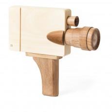 Caméra vidéo en bois Naturel
