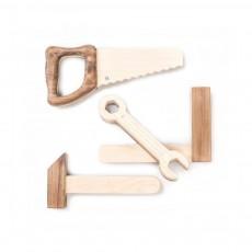 Set d'outils en bois Naturel