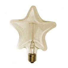Ampoule décorative étoile Naturel