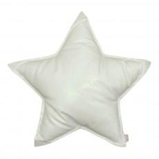 Coussin étoile glitter Blanc