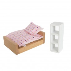 Chambre rose Rose