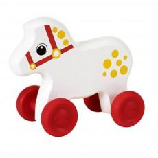Mini cheval à pousser Blanc