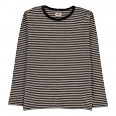T-shirt Rayé Tobino Gris chiné