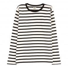 T-shirt Rayé Tobino Blanc