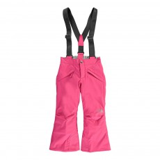 Pantalon de Ski Bretelles Snowquest Rose