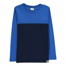 T-shirt Bicolore Toldino Bleu