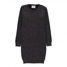 Robe Pull Lurex Delinga Noir