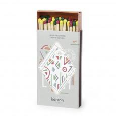 Boîte d'allumettes L'herbier de Kerzon Multicolore