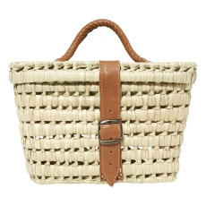 product-Chabi Chic Basket with leather handle