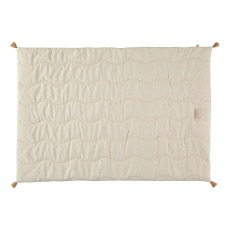 product-Nobodinoz Fuji quilted blanket in organic cotton