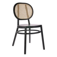 product-HKliving Cane-backed chair