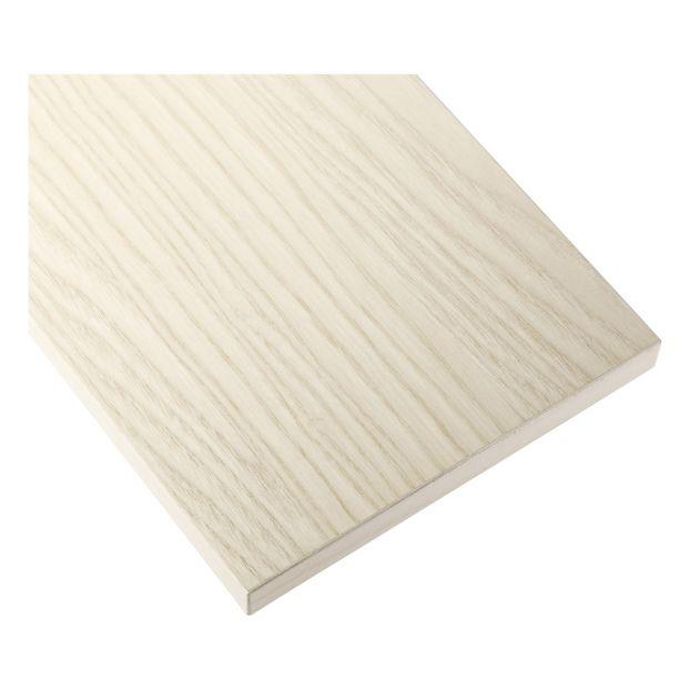 Regalboden 3er Set Weiß 58 x 30 cm String