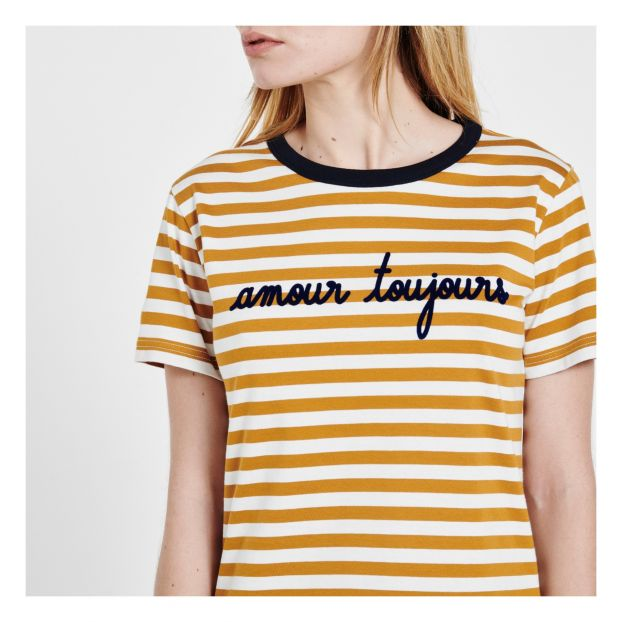 1c15dbe7eb Amour Toujours Striped T-shirt - Women's Collection - -product