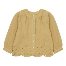 product-Rylee + Cru Blouse Eyelet Meadow