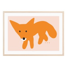 product-Warmgreytail Fox poster
