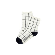 product-Carrement Beau Checked Cotton Socks