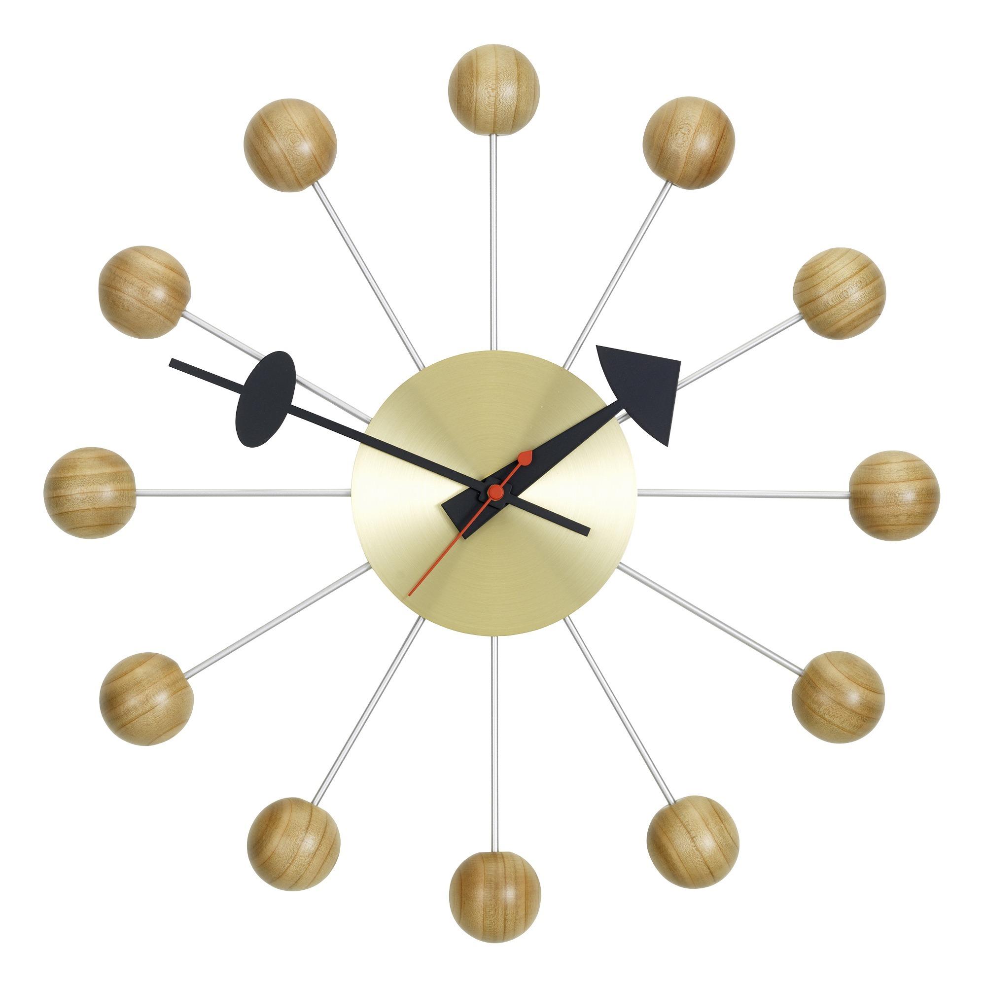 Wanduhr Ball Clock- George Nelson, 1948