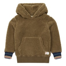 product-AO76 Faux Fur Sherpa Sweatshirt