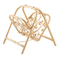 product-Bonton Rattan magazine rack