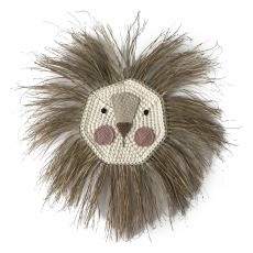 product-Ila y Ela Raffia Lion Head