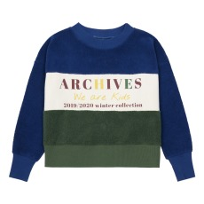 product-We Are Kids Nat Archives Organic Cotton Polar Fleece Sweatshirt
