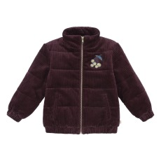 product-Soft Gallery Manteau Evander Velours Berry