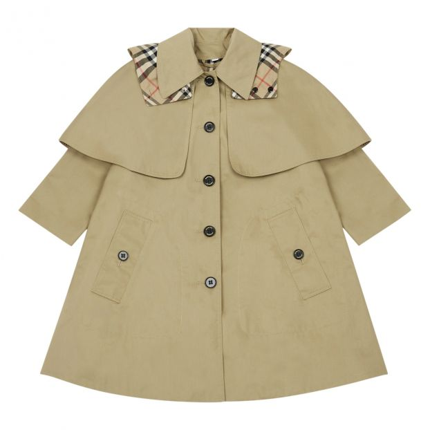 Bethel Trench Coat Beige by Smallable