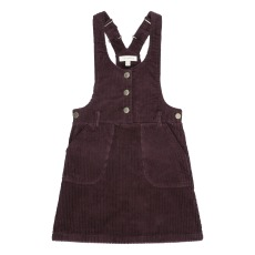 product-Soft Gallery Emmylou Velvet Dungaree Dress