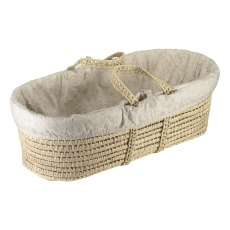 product-Camomile London Minako Moses Basket - Set of Floral Coton Pieces