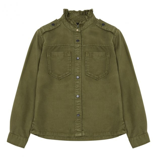 low priced 487c0 6abf8 Camicia Verde militare