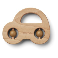 product-Liewood Car Wooden Teething Ring