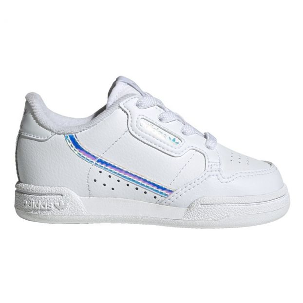 Sneakers lacci continental Argento