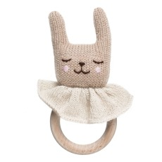 product-Main Sauvage Bunny wooden rattle