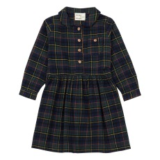 product-Wander & Wonder Pine Shirt Plaid Dress