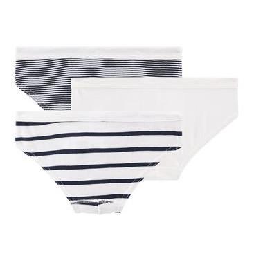 46f4d4871f3f Striped Briefs - Set of 2 White Petit Bateau Fashion Children