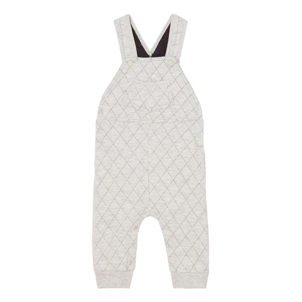 reloj 3fcc0 01a49 Carapace Quilted Dungarees Grey